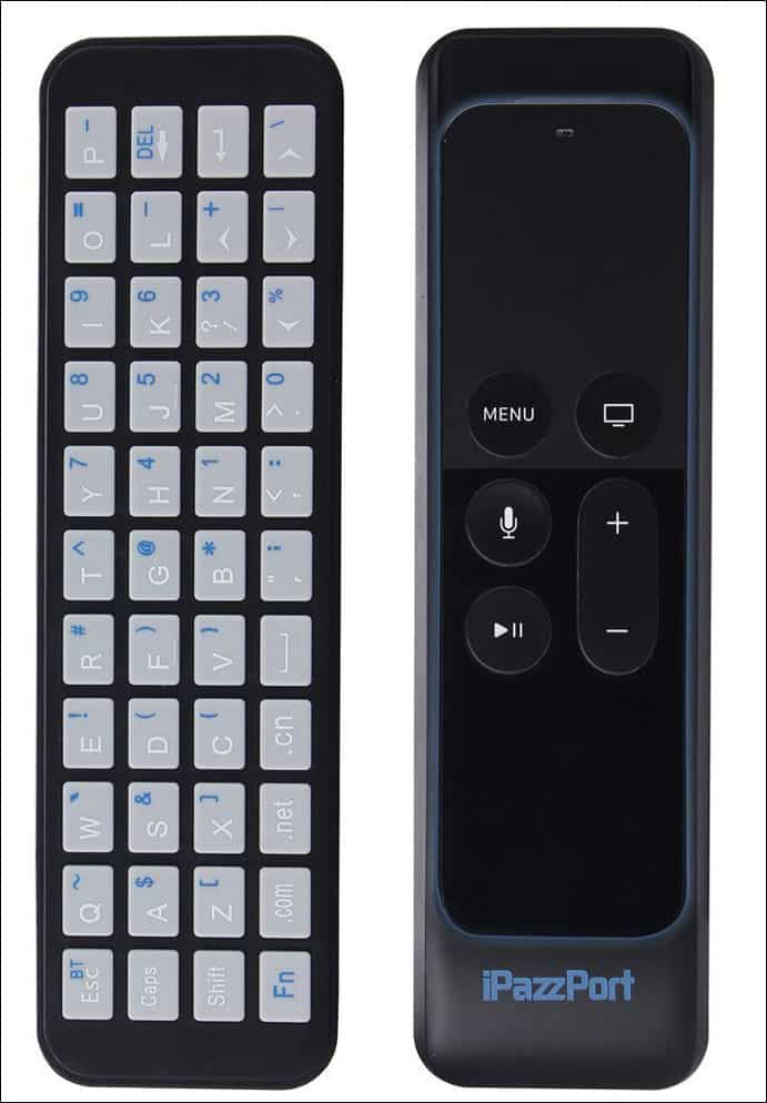 iPazzPort Apple TV Remote Keyboard
