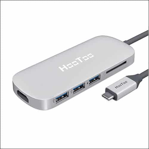 HooToo USB C HUB for Macbook Pro or Air