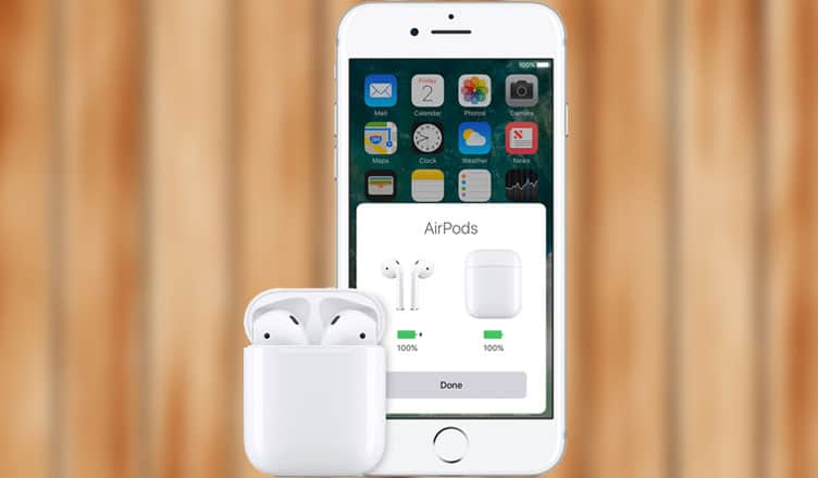 timeless design f4fcc d47e5 How to Check Battery Status of AirPods and Charging Case on iPhone ...