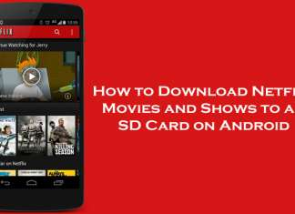 How to Download Netflix Movies and Shows to an SD Card on Android