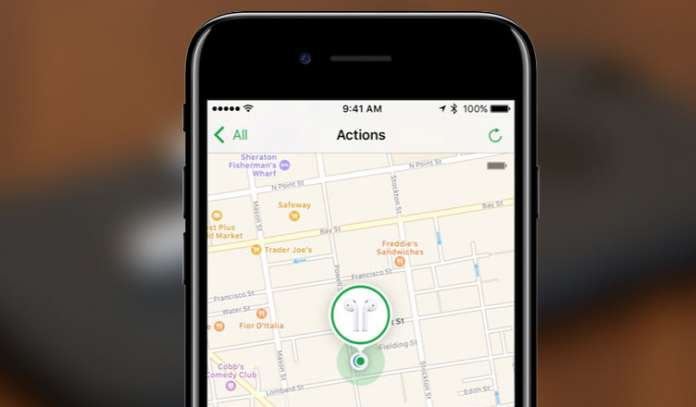How to Find AirPods Using Find My AirPods on iPhone in iOS 10.3