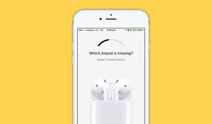How to Find Lost AirPods using iPhone or iPad