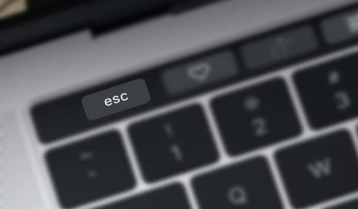 How to Use Escape Key on MacBook Pro with Touch Bar