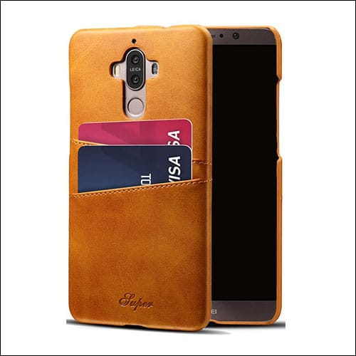 Pasonomi HuaWei Mate 9 Leather Wallet Cases