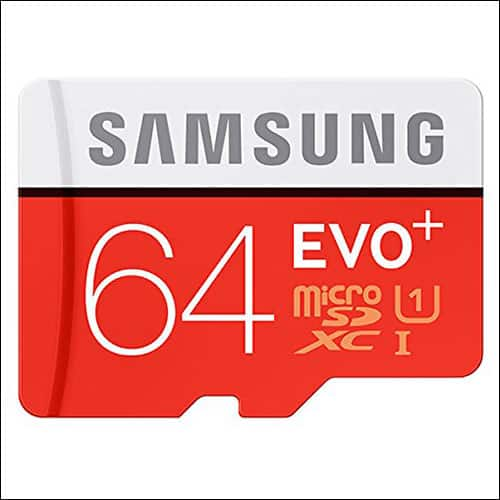 64GB Samsung Evo Plus MicroSD Card64GB Samsung Evo Plus MicroSD Card