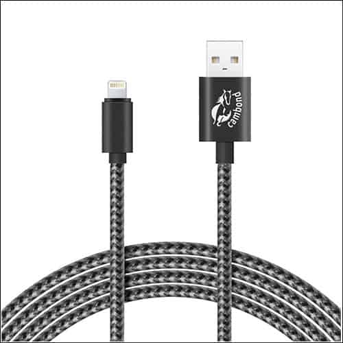 Cambond iPhone 7 and 7 Plus Charging Cable