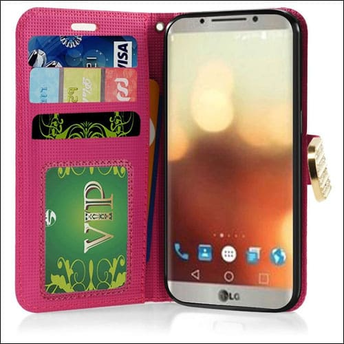 CaseAVE LG G6 Wallet Case