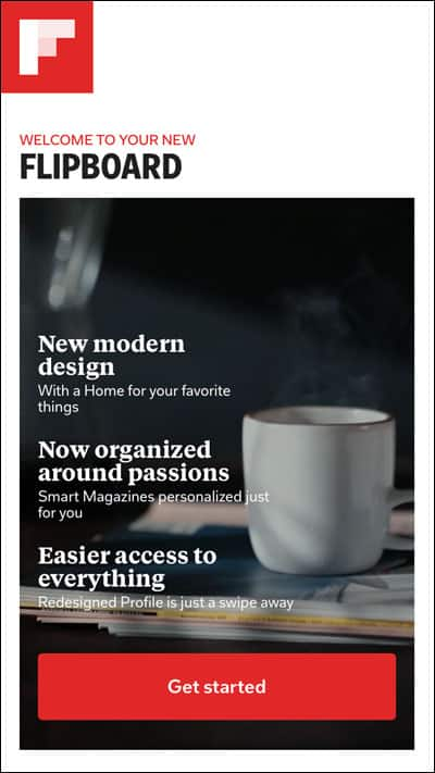 Flipboard New Design with Smart Magazine Feature