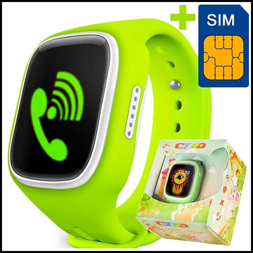 GBD GPS Tracker Watch for Kids