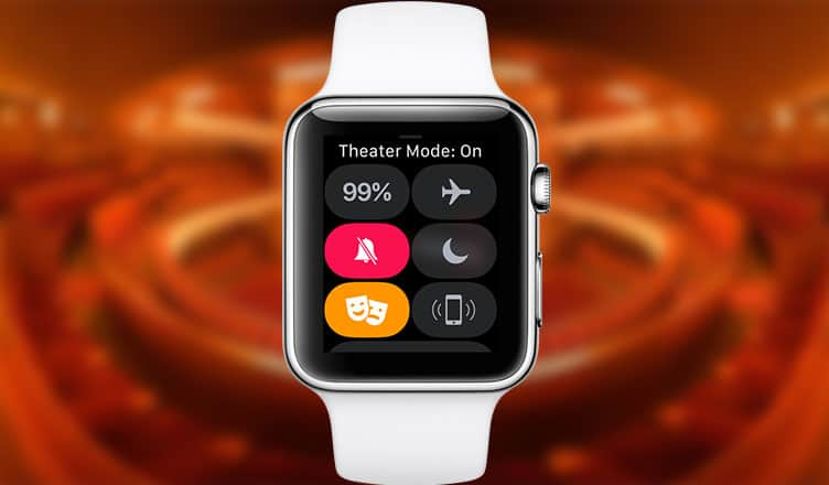 How to Enable Theater Mode on Apple Watch Running watchOS 3.2