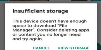 How to Fix Insufficient Storage Available Error on Android Phone