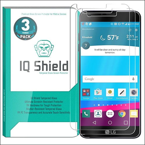 IQ Shield LG G6 screen protectors