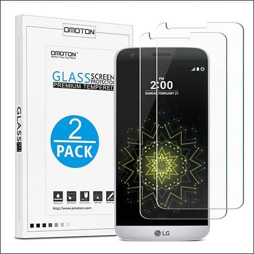 OMOTON LG G6 screen protectors