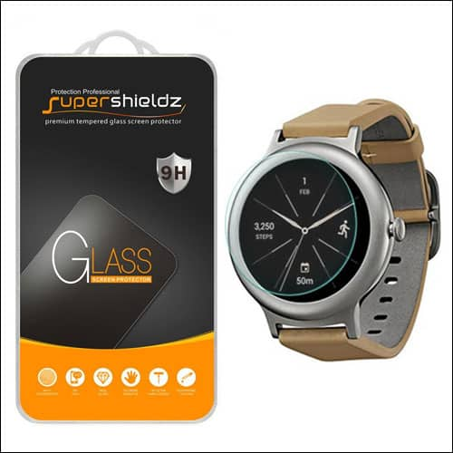 Supershieldz LG Watch Style Tempered Glass Screen Protectors