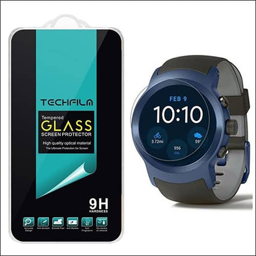 TechFilm LG Watch Sport tempered glas screen protector