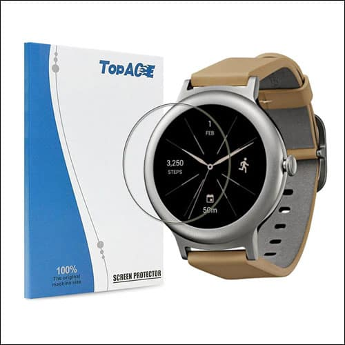 TopACE LG Watch Style Tempered Glass Screen Protectors
