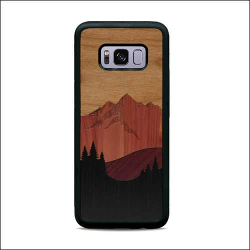 Carved Galaxy S8 Wooden Phone Cover