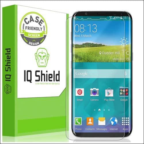 IQShield Galaxy S8 Screen Protector