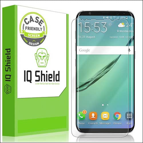 IQShield Samsung Galaxy S8 Plus Screen Protector