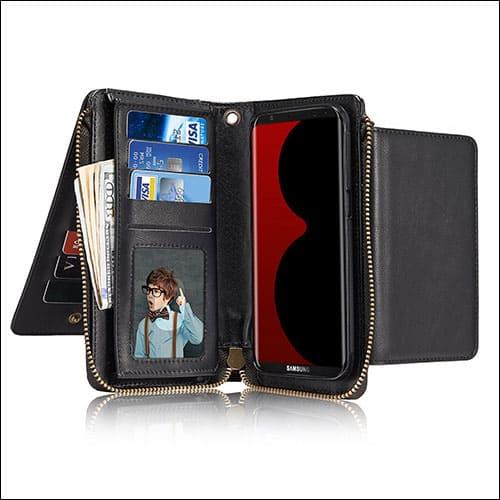 JGOO Galaxy S8 Wallet Cases