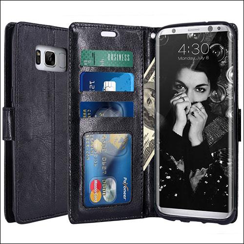 LK Galaxy S8 Wallet Cases