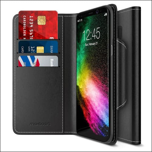 Maxboost Galaxy S8 Wallet Case