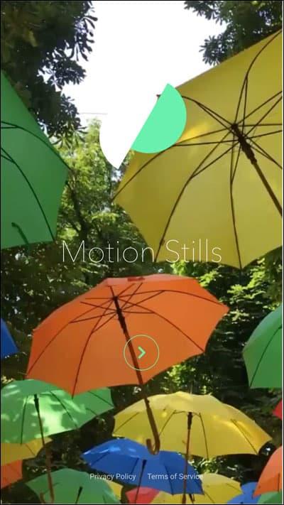 Open Motion Stills