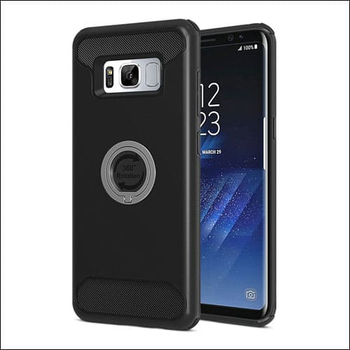 SPARIN Ring Stand Case for Samsung Galaxy S8