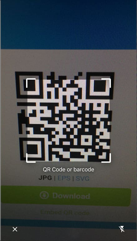 How To Scan App Code On Iphone