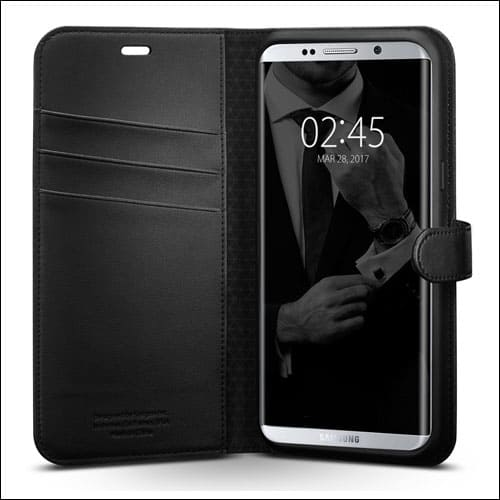 Spigen Wallet S Foldable Cover for Galaxy S8 Plus
