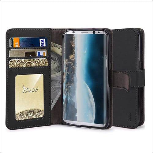 Tauri Galaxy S8 Wallet Cases