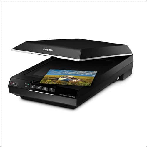 Epson Perfection V600 Color Photo, Image, Film, Negative & Document Scanner