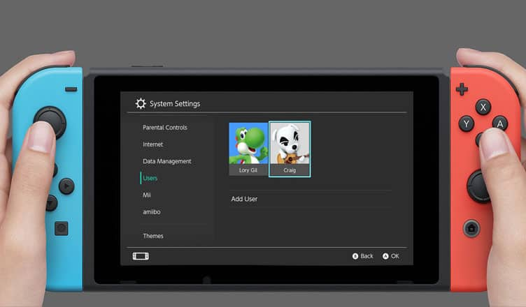 How to Add or Change Nintendo Accounts in eShop on Switch