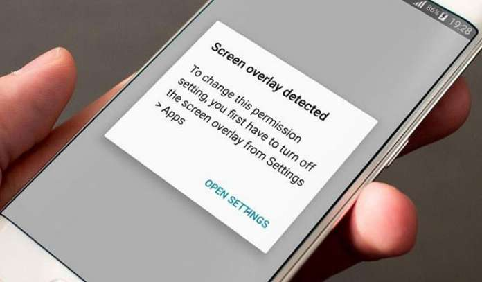 How to Fix Android Screen Overlay Detected Error