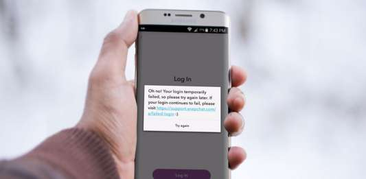How to Fix Snapchat Login Temporarily Failed Error on Android