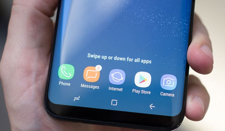 How to Restore and Disable App Drawer Button on Galaxy S8 or S8 Plus