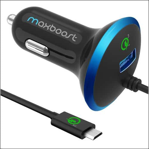 Maxboost Car Charger for Samsung Galaxy S8 and S8 Plus