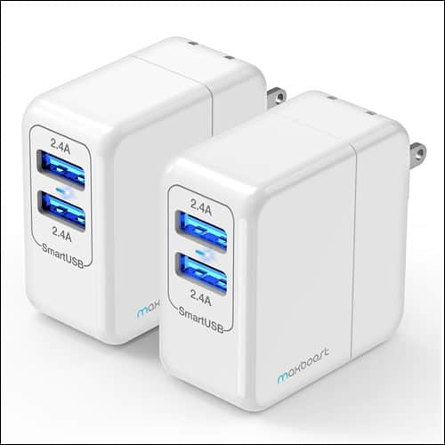 Maxboost Portable Wall Charger for Galaxy S8 and S8 Plus