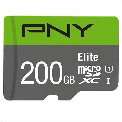 PNY 200 GB Micro SD Card