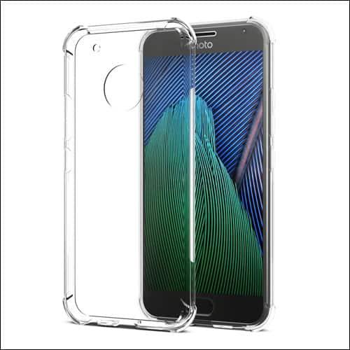 SPARIN clear case for Moto G5 Plus