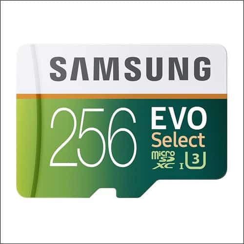 Samsung EVO Select Micro SD Card for Galaxy S8
