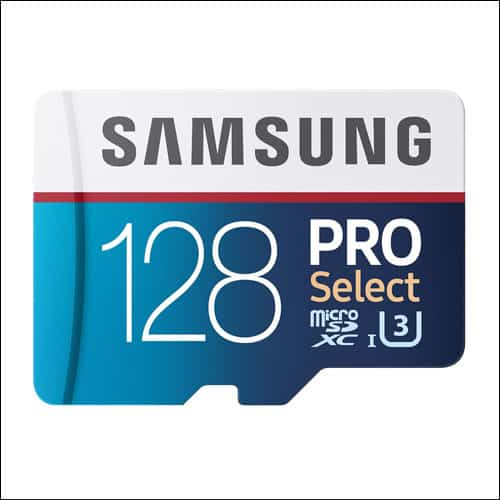 Samsung PRO Select Storage Card for Galaxy S8 and S8 Plus