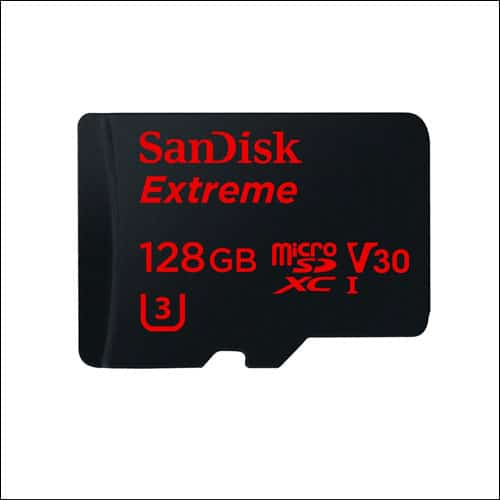 SanDisk 128 GB Micro SD Card