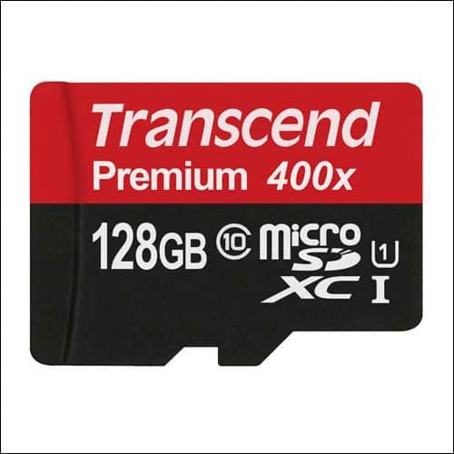 Transcend 128 GB Micro SD Card
