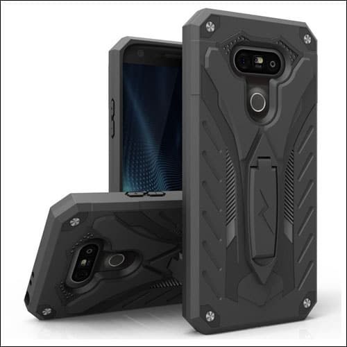 Zizo Kickstand case for Moto G5 Plus