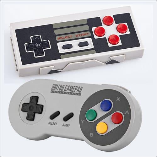 8Bitdo Wireless NES & SNES Controllers
