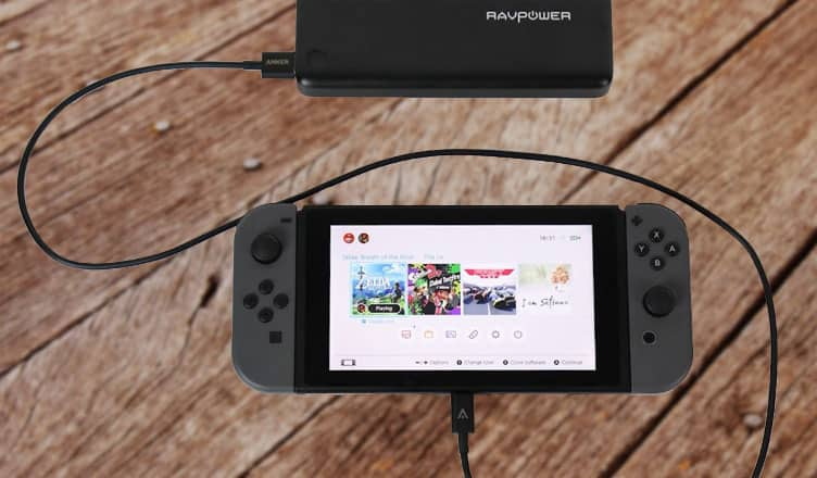 Best Power Bank for Nintendo Switch