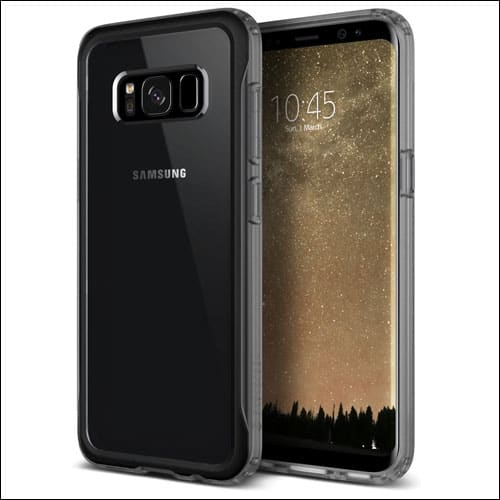 Caseology Best Clear Case for Galaxy S8 Plus