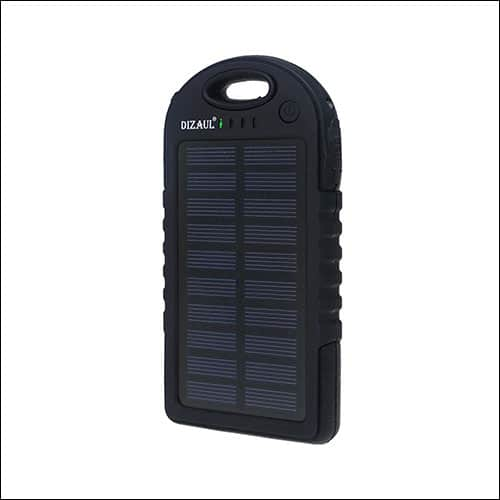 Dizaul solar phone charger