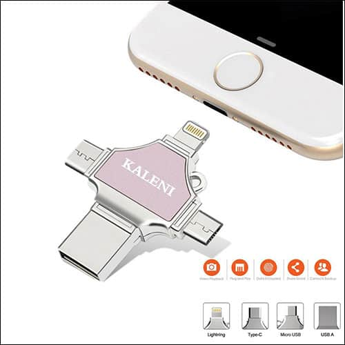 KALENI Flash Drive for iPhone and iPad